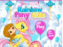 My Little Pony Rainbow Pony Ride