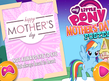 My Little Pony Mother's Day Poster