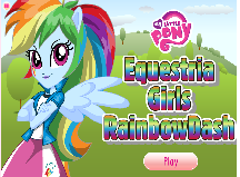 My Little Pony Rainbow Dash Dress up