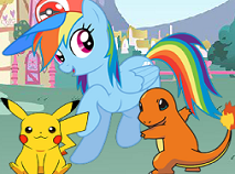 My Little Pony Joaca Pokemon Go