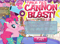 My Little Pony Pinkie Pie Cannon Blast