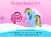 My Little Pony Rainbow Dash Mix-Up