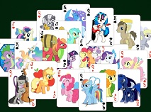My Little Pony Solitaire Dublu