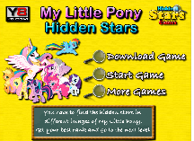 My Little Pony Find the Hidden Stars