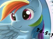 My Little Pony Test de Matematica