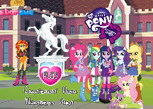 My Little Pony Canterlot High Number Hunt