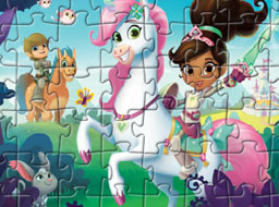 Nella the Princess Knight Characters Puzzle
