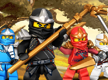 Ninjago Salveaza Satul