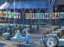 Frozen Fever Hidden Numbers