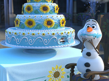 Olaf Frozen Fever Puzzle