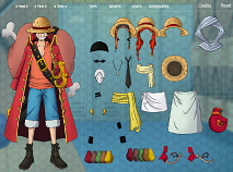 One Piece Luffy de Imbracat