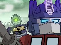 Optimus Prime vs Zombie Lego
