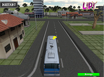 Parcheaza autobuze scolare 3D
