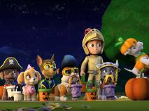 Patrula Catelusilor de Halloween Puzzle