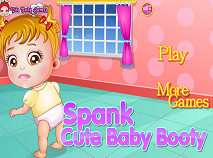Spank Cute Baby Booty