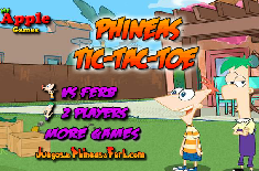 Phineas and Ferb: Tic-Tac-Toe