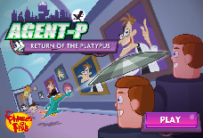 Phineas and Ferb: Agent P - Return of the Platypus