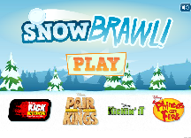 Phineas and Ferb Disney Snowbrawl