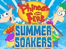 Phineas si Ferb Bataie cu Baloane de Apa