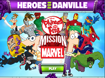 Phineas and Ferb Heroes of Danville