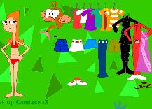Phineas si Ferb Imbrac-o pe Candace
