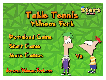 Phineas and Ferb Table Tennis
