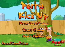 Phineas and Ferb: Perry Kick up