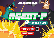 Phineas and Ferb: Agent P Treasure Island