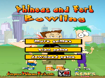 Phineas and Ferb Bowling