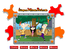 Phineas si Ferb: Puzzle  Isabella