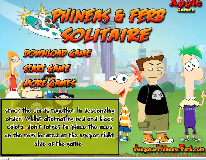 Phineas and Ferb Solitaire