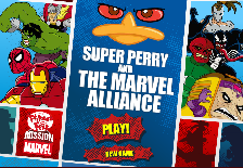 Phineas si Ferb: Super Perry si Alianta Marvel