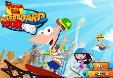 Phineas and Ferb: Hoverboard Tour