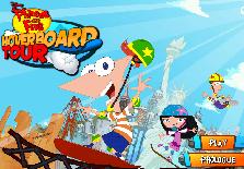 Phineas si Ferb: Turul Skateboardului