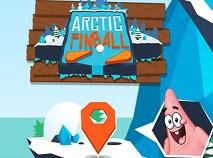 Pinball Arctic cu Spongebob