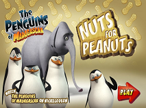The Penguins of Madagascar Nuts for Peanuts