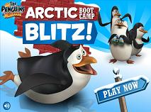 Pinguinii din Madagascar Arctic Blitz