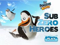Pinguinii din Madagascar Eroi sub Zero