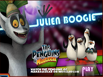 The Penguins of Madagascar Julien Boogie
