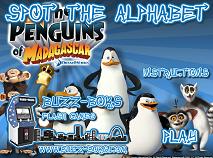 Penguins of Madagascar Spot the Alphabet