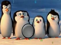 Pinguinii din Madagascar Litere Ascunse