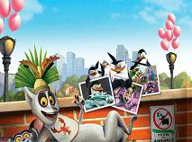 Pinguinii din Madagascar Numere Ascunse