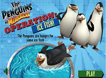 Pinguinii din Madagascar Pesti de Gheata