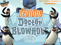 Pinguinii din Madagascar si Dr Blowhole