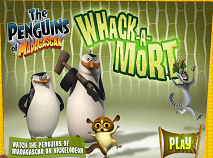 The Penguins of Madagascar Whack-A-Mort