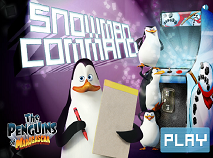 Penguins of Madagascar Snowman Command