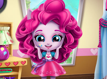 Pinkie Pie Curatenie in Camera