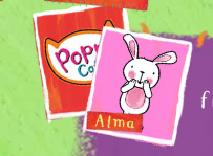 Pisica Poppy: Potriveste Cartile