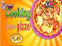 Pregateste Pizza cu Bacon
