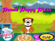 Pizza cu Pound Puppies